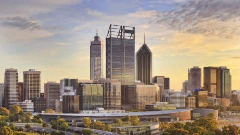 Construction underway on Perth's first 'smart freeway'