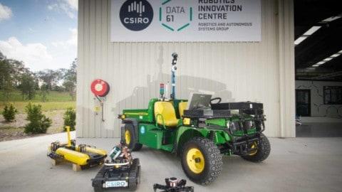 CSIRO opens new robotics research facility