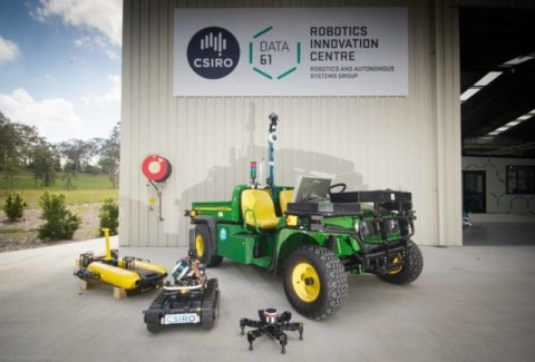 CSIRO opens new robotics research facility