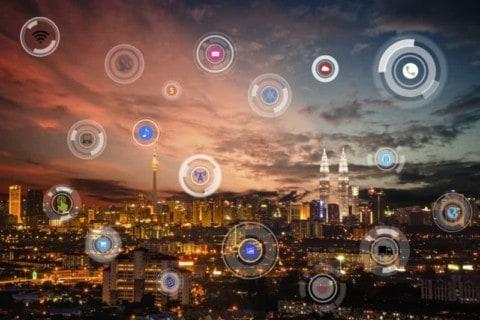 Integrated utilities power landmark smart city trial