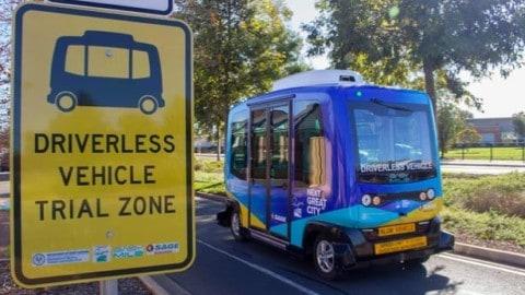 SA launches autonomous vehicle trial