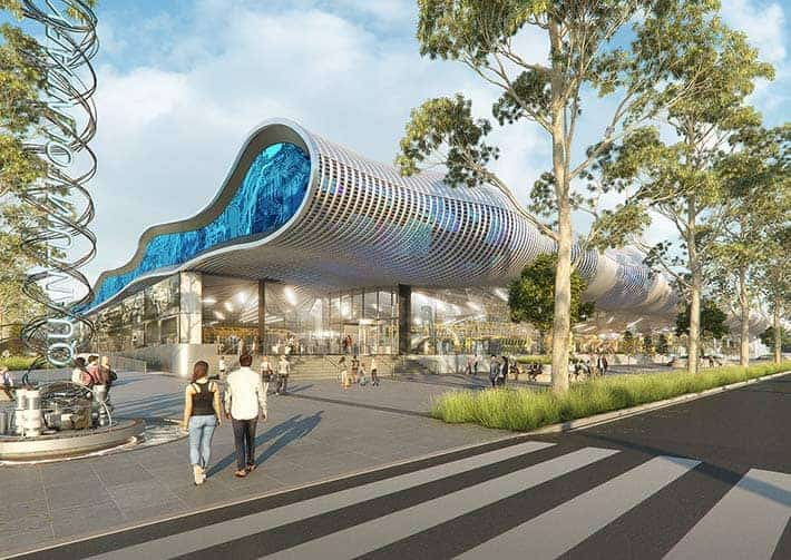 Western Sydney Aerotropolis building design render
