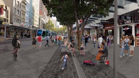 Final design released for Melbourne's Elizabeth Street upgrade