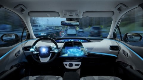 $2m prototype for driverless electric vehicle