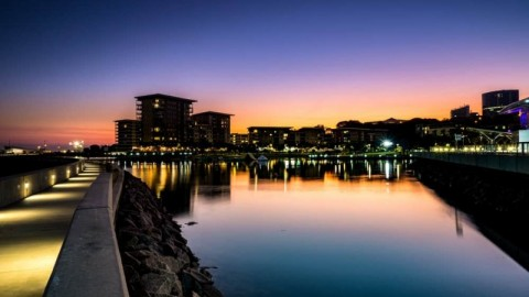 New Charles Darwin University city campus underway