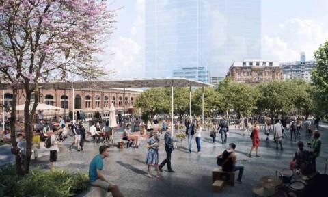 Sydney unveils plans for new public square at Tech Central