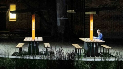 Smart solar benches arrive at University of Sydney