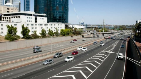 $100 million in funding for smart freeway technology