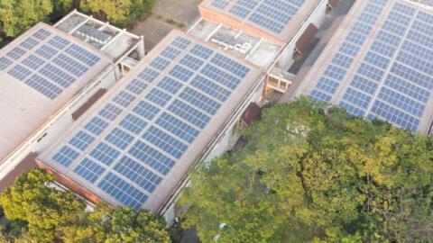 Solar powering communities through battery storage