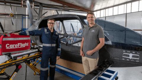 University of Sydney develops electric 'aero-ambulance'