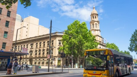 New green hybrid buses roll out in Adelaide