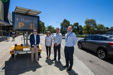 Mornington Shire trials smart parking technology