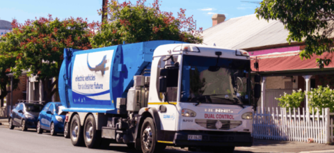 Councils come together for e-truck trial