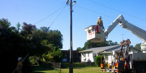 Council reduces emissions with LED street light upgrade