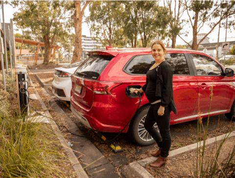 Melbourne EV charging hub the busiest in the country