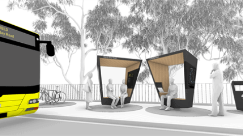 Smart bus shelter competition launches in Hobart