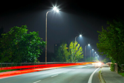 Council upgrades 500 streetlights to LED technology