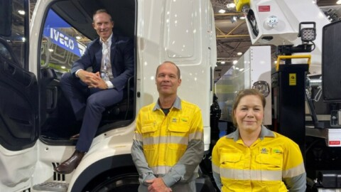 Storm recovery electric truck hits Queensland streets