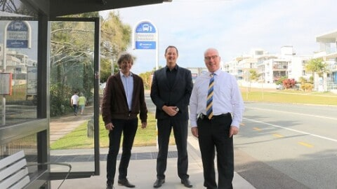 Bus stop upgrades make transport more accessible