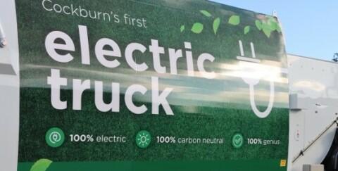 Electric waste truck trial underway