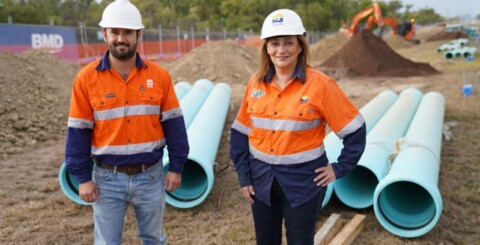 Council strengthens water supply with new pipeline