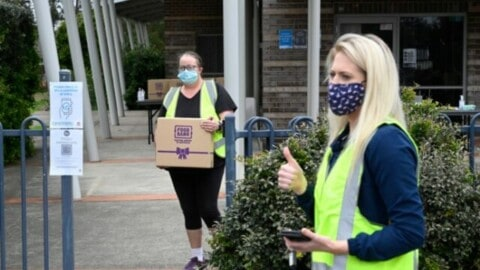 New council food hub provides food relief during pandemic