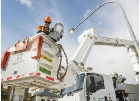 NSW Council switches to LED streetlights to reduce emissions