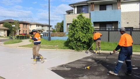 City trials road coating to reduce urban heat